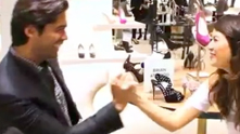 Oh-So-Handsome shoe designer Brian Atwood sits down with us at Saks Fifth Avenue to debut his shoe line, B by Brian Atwood. Guest host Corri McFadden can't leave without buying just a few pairs—was it the killer heels? Or Brian's killer smile? You be the judge. Watch the exclusive G&F interview.