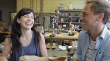 A self-proclaimed mad scientist in an industrial (chili) factory, Annie Mohaupt creates sustainable, vegan and really, really, cool shoes from whole blocks of wood with the intense precision of a one-time architect. The result: Mohop Shoes, a one-of-a-kind brand for your two feet. Watch the exclusive G&F interview.