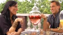 Marina Birch, the super-cute and multi-talented party planner invites G&F out onto her deck for a fresh and fruity summer cocktail. You can't blame us if we get a little silly. Watch the exclusive G&F interview.