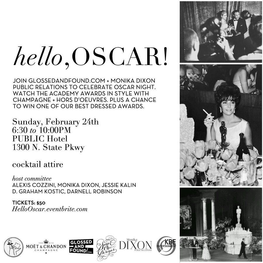 UPDATED_Glossed & Found + Monika Dixon PR Oscar Event at Public Hotel