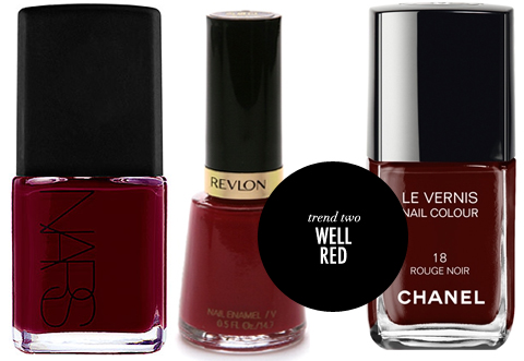 Summer Nail Polish Trends Red Nails