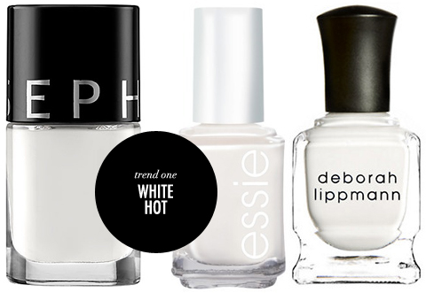 Summer Nail Polish Trends White Nails