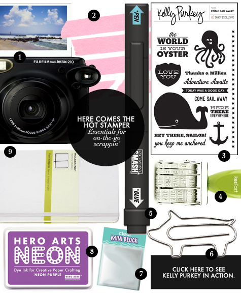 Kelly Purkey Scrapbooking Essentials