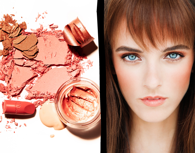 Fall Beauty How-To: Jane Birkin Peachy Glow