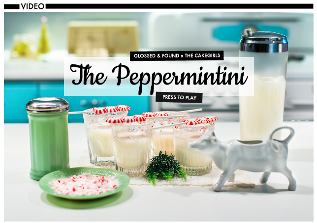 Holiday DIY: Peppermintini