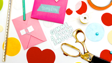 We're sharing quick and easy Valentine's that are as cute as they are quick. Download our templates (link below!) and relax—you got this love thing in the bag! Because after all, why spend all the time and money on something that's just going to get shoved to the side when your love comes in for that big smooch.