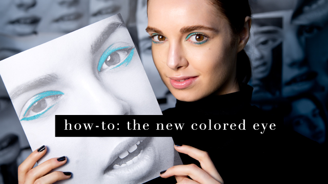 G&F Fall Beauty How-To: The Colored Eye
