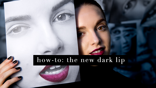 G&F Fall Beauty How-To: Dark Lip