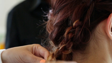 Olivia and Charles Ifergan take us through this hair how-to on tricking out your tresses with some easy knots and few strategically placed bobby pins. The result? An easy, simple and absolutely stunning look for your Fall tresses. We're getting all tied up with this cool, messy 'do to celebrate the season of statement hair.