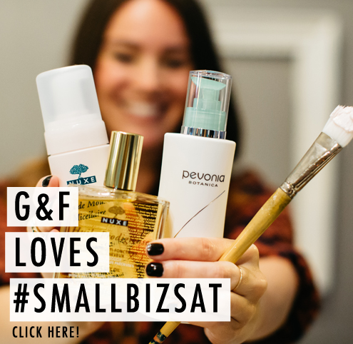 G&F Blog_Small Business Saturday Link