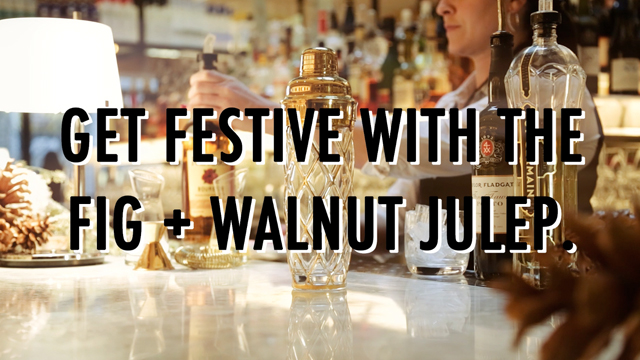 Fig & Walnut Julep How-To