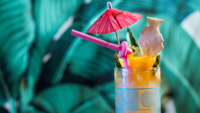 Mix up the Lost Lake cocktail