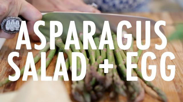 Cat De Orio Cooks: Asparagus Salad