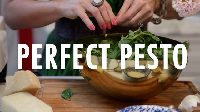 Cat De Orio Cooks: Perfect Pesto