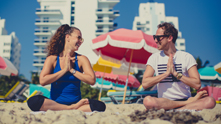 Next to the striped umbrellas and the great big blue, we're doing it downward dog style on The Thompson Hotel beach with yoga instructor Dawn Bianca Feinberg. We're balancing through poses and soaking up rays to get grounded and meditated first thing in the AM. Dawn B Yoga incorporates inspiration from a blend of the breath based essence of ashtanga and the evolving freedom of Jivamukti Yoga–topped with her signature sense of humor. And after your toes grip the sand and you chaturanga into the Miami sun, Dawn gives us three post-yoga jaunts.