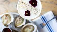We're serving up a cocktail straight from ACK's hottest hangout, Cru. The cedar shake oyster bar sits atop a pier—the perfect vantage point for watching the bobbing