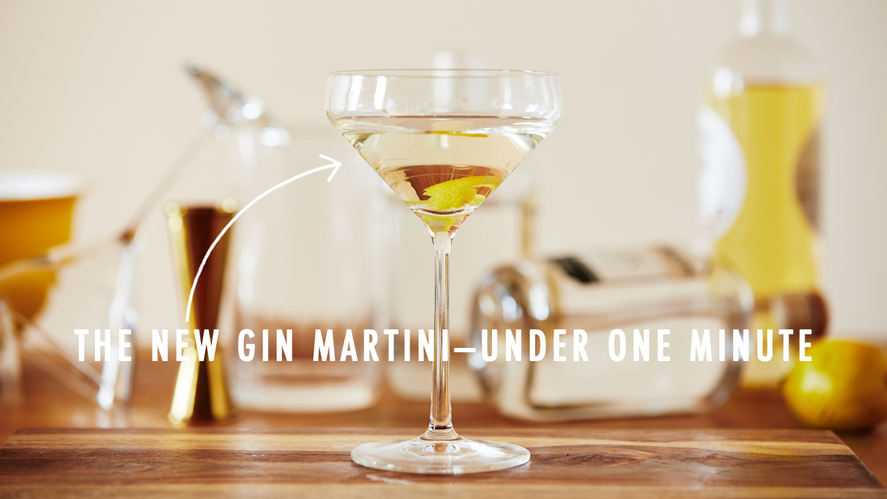 Quick Mix! The Martini