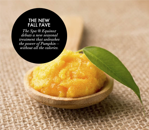 G&F BLOG_Spa at Equinox Fall Pumpkin Facial