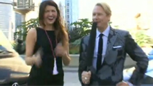 Fashion expert Carson Kressley pulls into town in the Mercedes Benz Fashion Force for a shopping festival on Michigan Avenue. We're there to pick his brain about what not to wear for the unpredictable changes in Chicago weather. Watch the exclusive G&F interview.