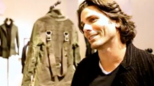 G&F guest host Corri McFadden talks to the beautiful Greg Lauren while he debuts his line at Barneys New York, and the rest of the crew is as green with envy of the artist-turned-designer's one-of-a-kind deconstructed military jackets. Watch the exclusive G&F interview.