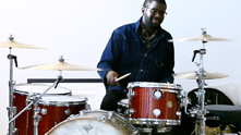 You may or may not know De'Mar Hamilton, the drummer for the Plain White T's, because he may or may or may not be on your favorite PWTs track (drums are surprisingly absent from a lot of the radio hits!); but watch this clip and you'll easily see why he is G&F's favorite of the band members--and why he's anything but plain. We're catching up with him at his Chicago pad to take an expert drumming lesson. Watch the exclusive G&F interview.