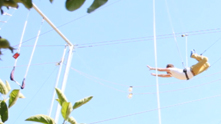 The Trapeze School of New York is camped out in Chicago this summer—just up the lake path at Belmont Harbor Marina—so naturally G&F had to take a swing at it (pun intended). Instructor Katy Nielsen guides us through a knee hang move and proves that the fall can be just as exhilarating as the climb up. Watch the exclusive G&F interview.
