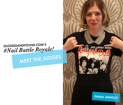 Meet the Judges Nail Battle Royale Mean Stinks Glossed & Found_1