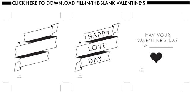 Glossed & Found Valentine's Day DIY Download Valentine's_1