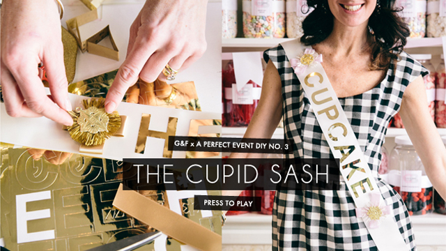 Valentine's DIY: The Cupid Sash