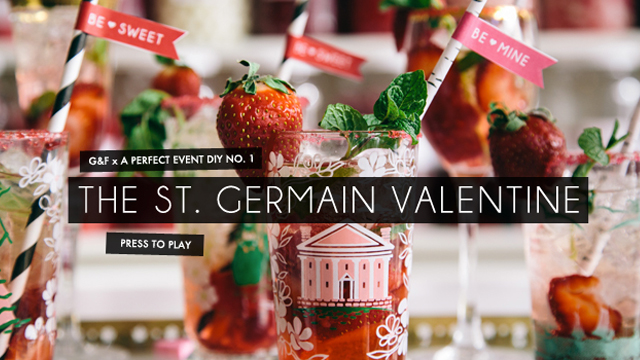 Valentine's DIY: The St. Germain Cocktail