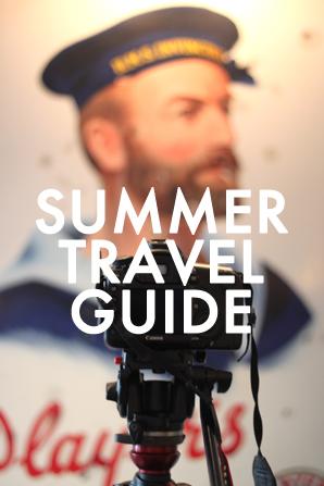 Summer Travel Guide Lookbook