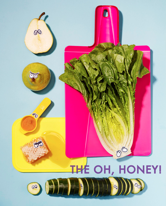 Oh Honey Cucumber Pear Romaine Smoothie Recipe_1