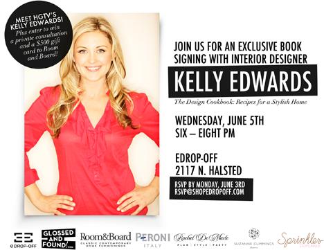 Kelly Edwards Book Signing Blog