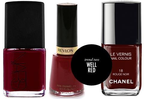 Summer Nail Polish Trends Red Nails