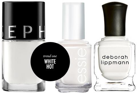 Summer Nail Polish Trends White Nails