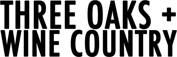 Three Oaks Wine Country Header