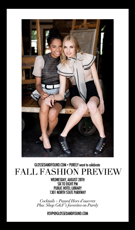 G&F + PURELY PUBLIC FALL FASHION PARTY