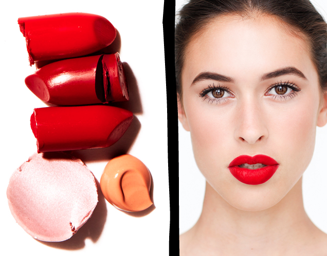 Glossed & Found Fall Beauty Red Lip