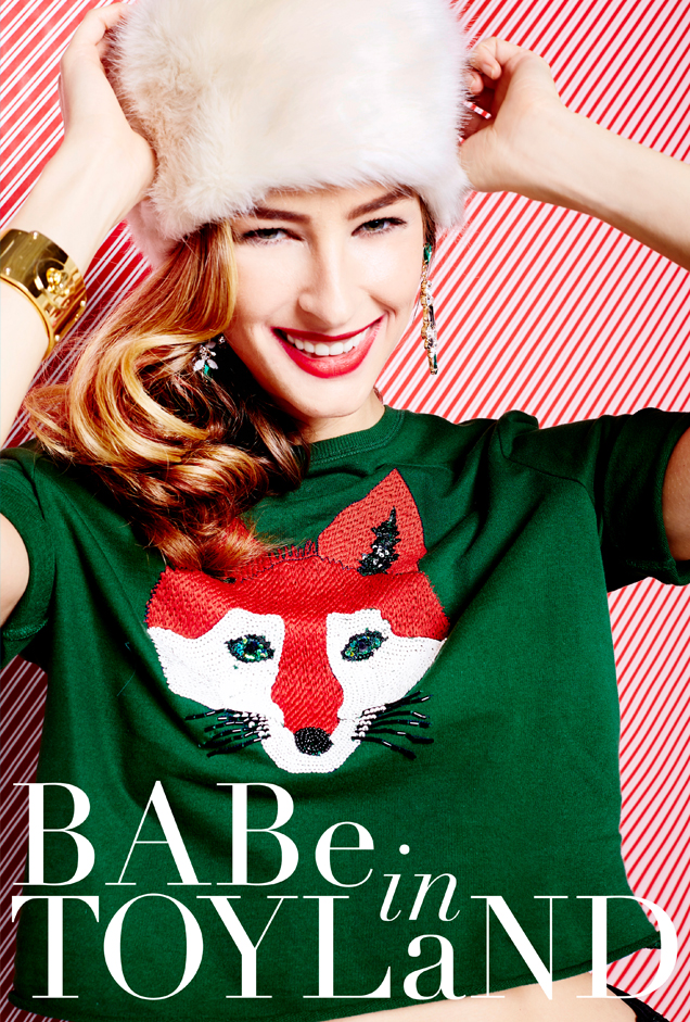 Glossed & Found_Holiday Fashion_babe in toyland