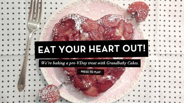 Shake N' Bake! G&F Hearts Grandbaby Cakes