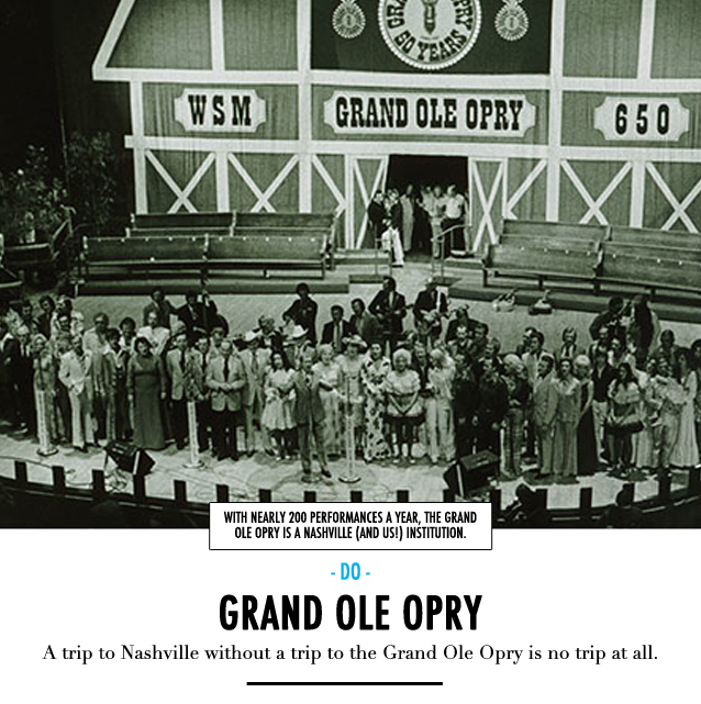 GF Travel_Nashville_Grand Ole Opry