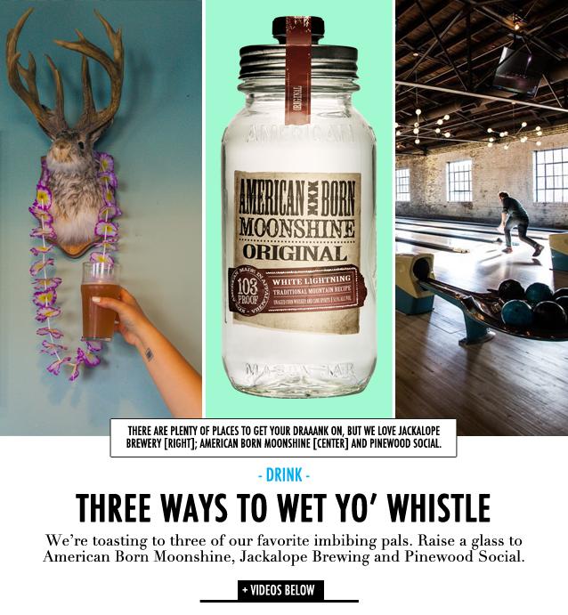GF Travel_Nashville_Jackalope Brewing Company Pinewood Social American Born Moonshine