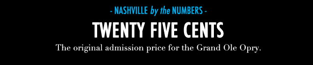 GF Travel_Nashville_Nashville Numbers Grand Ole Opry