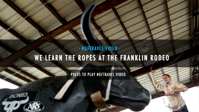 #GFTravel Nashville: Franklin Rodeo