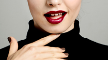 We usher out coral and usher in the classic red pucker. Ditch the lipliner this season.