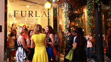 We can't pass up a summertime Happy Hour. Seriously—try us. Especially when we can throw one with a fashion favorite of ours. We teamed up with Furla to gather some of the most stylish sirens in the city to come toast to the luxe Italian handbag company's pre-fall collection. To pick a favorite? Impossible. Between a myriad of metallic tones and the Metropolis—a new season staple which one lucky guest won in a social media giveaway—we invited guests (including Ladies of London star Juliet Angus and an all-star blogging host committee) to mix, mingle and boogie down to beats mixed by DJ Shannon O'Brien. While fashion lovers browsed some of the latest styles, Furla was excited to talk about their newest partnership with the Thompson Chicago. Launching in September, guests of the hotel are able to borrow Furla bags from the Pre-Fall and Fall 2014 collections on a comp basis. Talk about upping your style game and giving you more room in your carry-on for shoes. Sign us up.