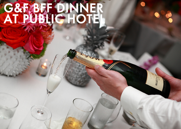 Best of 2014_GF BFF dinner