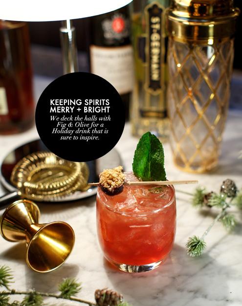 G&F BLOG_Fig & Olive Holiday Drink
