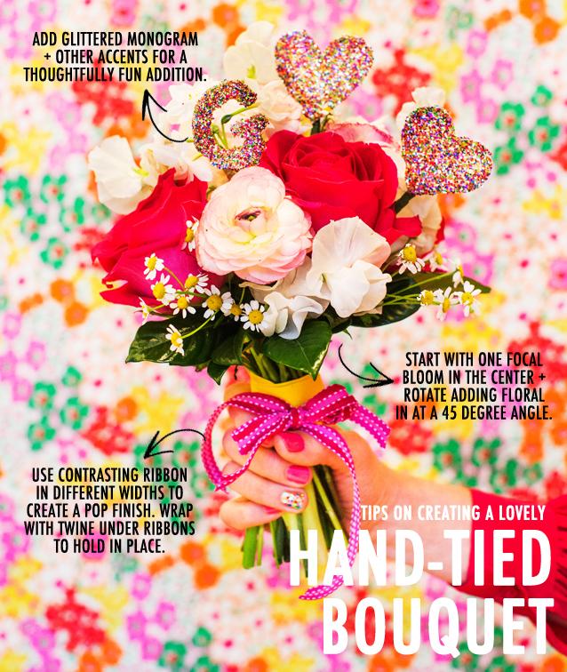 GF-Spotlight_HAND TIE BOUQUET_Christine Noelle Valentine's Day DIY_2
