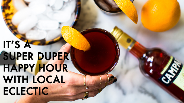 Happy Hour with Local Eclectic